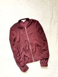 H&M Легкий бомбер куртка пиджак блейзер без подклады 40-42 укр.