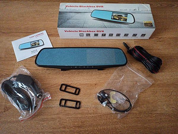 Дзеркало відеореєстратор Vehicle Blackbox DVR Full HD 1080p
