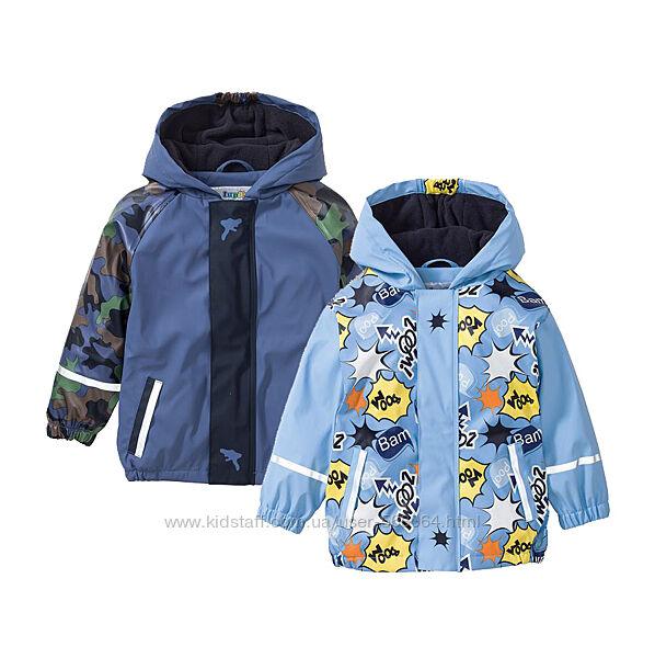 Куртка грязепруф на флисе дождевик ветровка демисезонная Lupilu