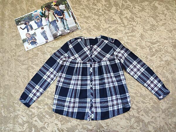 Стильная рубашка, туника для девочки Terranovа в идеале, р.128-134, 8-9 лет