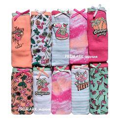 Трусики для девочки фламинго Primark