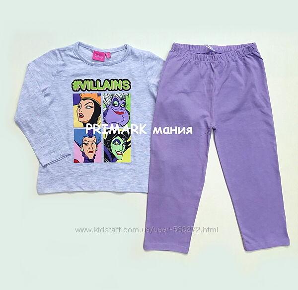 Пижама для девочки Дисней 98-110 см