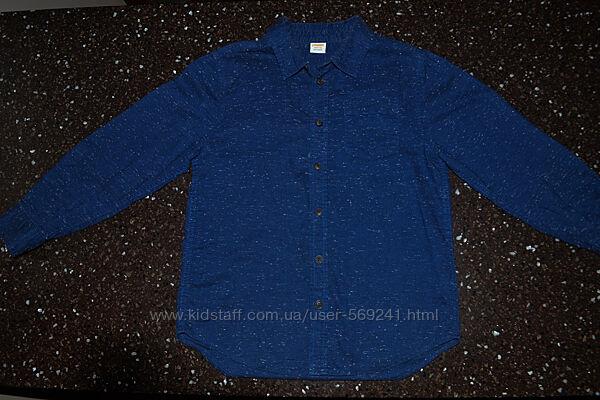Рубашка для мальчика бренда Gymboree в идеальном состоянии