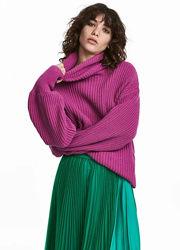 Потрясный свитер цвета фуксия h&m