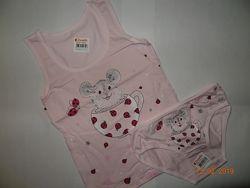 комплекты для девочек возраст 2-3 года, рост 98-104