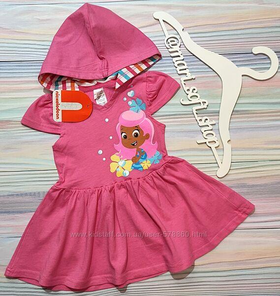 Розовое платье с русалкой Nickelodeon р. 2Т