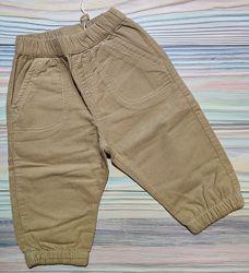 Песочные вельветовые штаны Original marines р. 6-9 мес