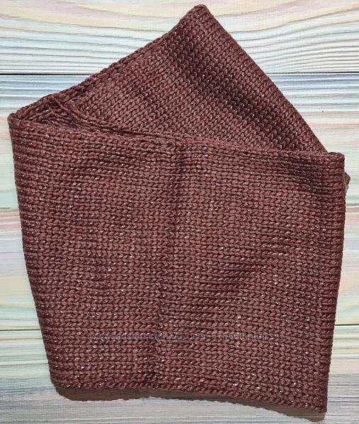 Теплый вязаный снуд - шарф Cool Club