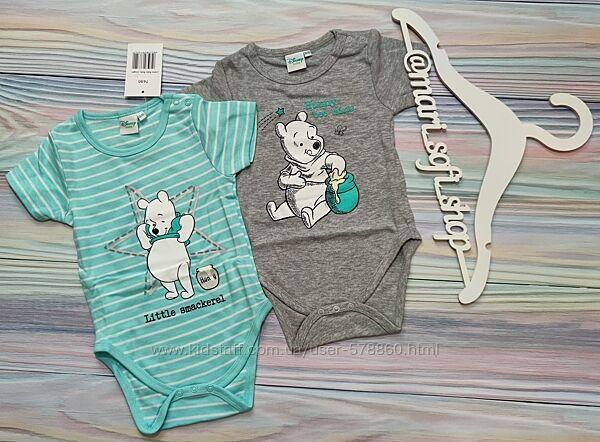 Боди с коротким рукавом - набор Disney р. 74-80, 80-86
