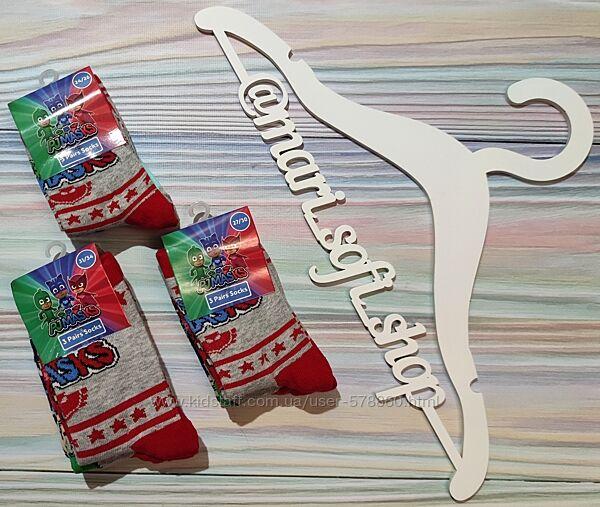 Яркие носки с PJMasks от Disney р. 24 - 34 - набор