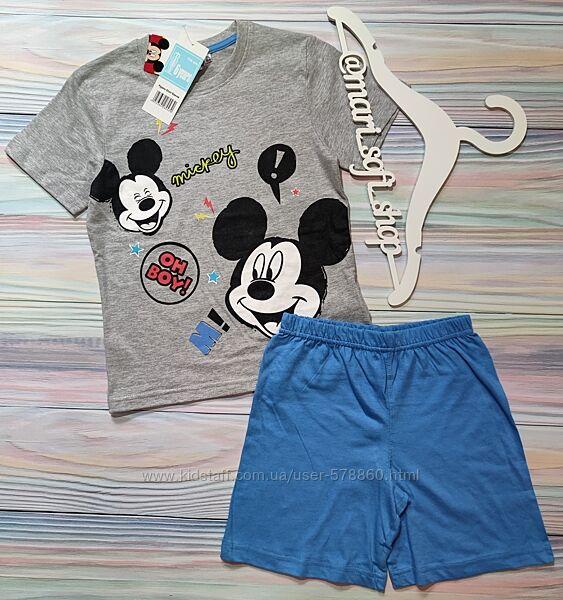 Летняя пижама с Mickey Mouse Disney р. 116
