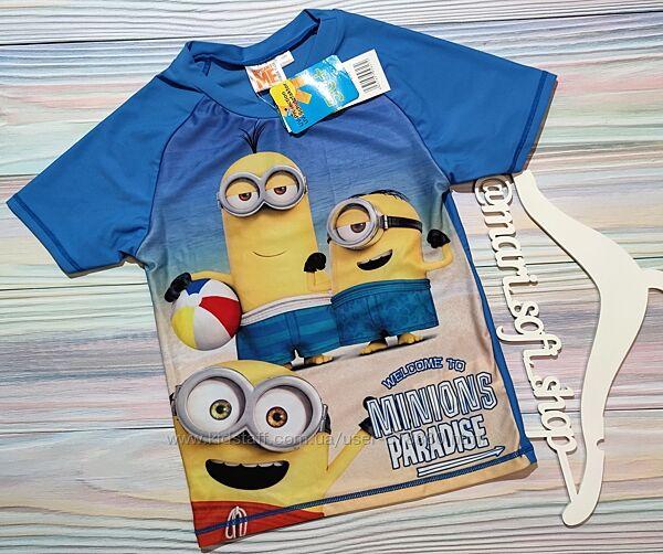 Солнцезащитная футболка с Миньоном Disney р.140 SPF 50