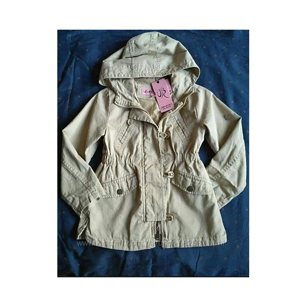 Легкая весення куртка, котоновая парка