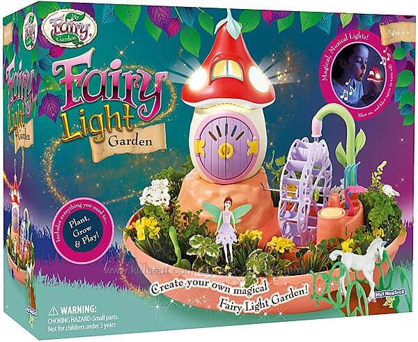 My Fairy Garden мой волшебный сад феи ночник свет и звук Light Musical
