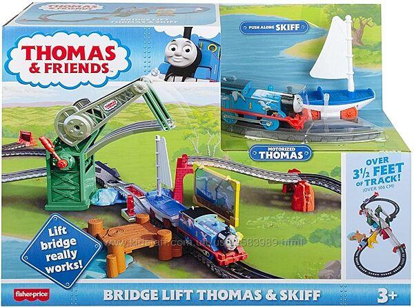 Железная дорога Приключения на мосту Томас Fisher Price Bridge Lift Thomas