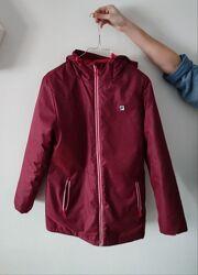 Подростковая куртка парка Фила Fila рост.164 бордо полиестер