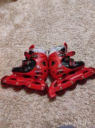 Роликовые коньки раздвижные детские