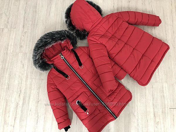 Курточка, пальто Зимнее 122-146рост Kelly