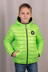 Демисезонная двухсторонняя куртка ДЖЕК Новинка 98-164см