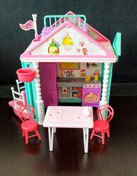 Barbie Club Chelsea Clubhouse Кукла Барби Челси клубный домик