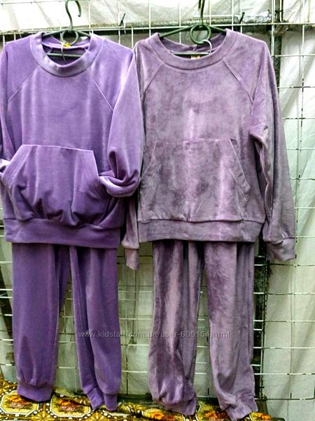 велюровый домашний костюм, пижама