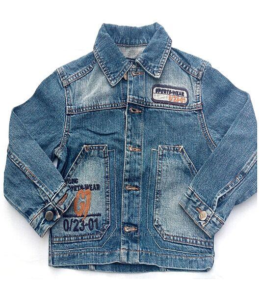 Куртка джинсовая Gloria Jeans мальчику, размер 26/104