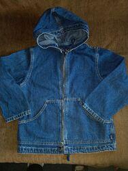 Джинсовая куртка ветровка жакет для мальчика или для девочки