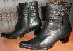 Ботинки женские зимние мех натуральная кожа MOLKA - р. 40 ст. 26 см