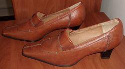 Туфли натуральная кожа K-Shoes Великобритания р. 37 ст. 24. 5 см