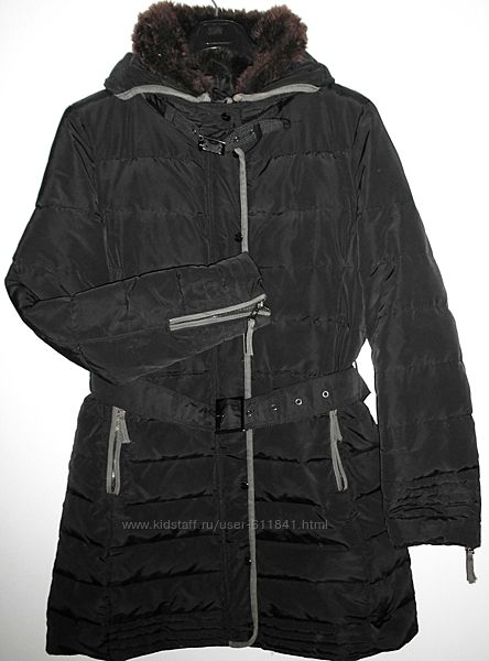 Куртка пуховик женский Zara Basic р. 46-48