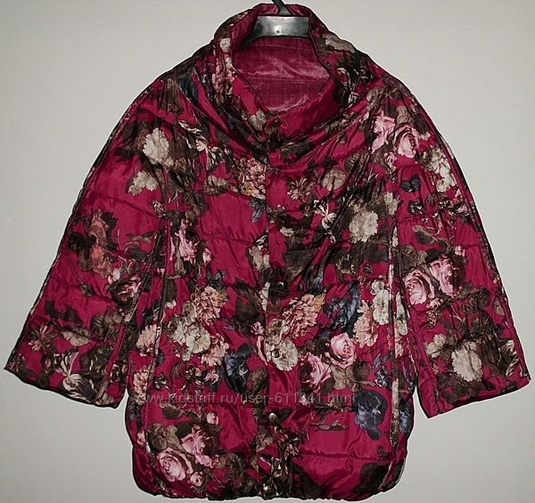 Куртка двухсторонняя рукав три четверти р. 44-46