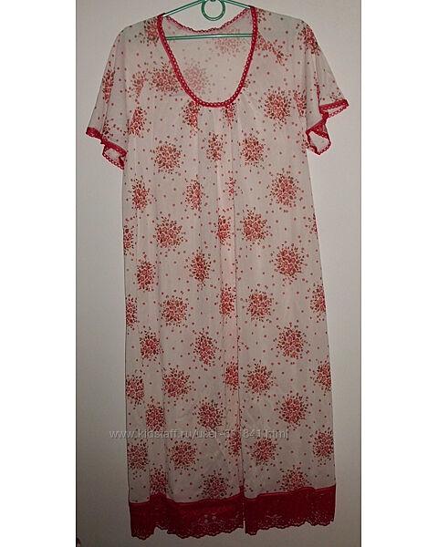 Женская ночная рубашка р.54-56