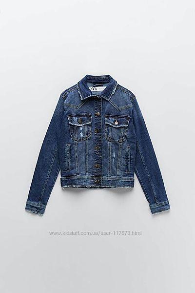 Крутая джинсовка  m куртка  ZARA