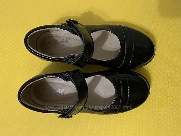 туфли кожаные 32р. 21см