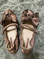 Туфли балетки Prada