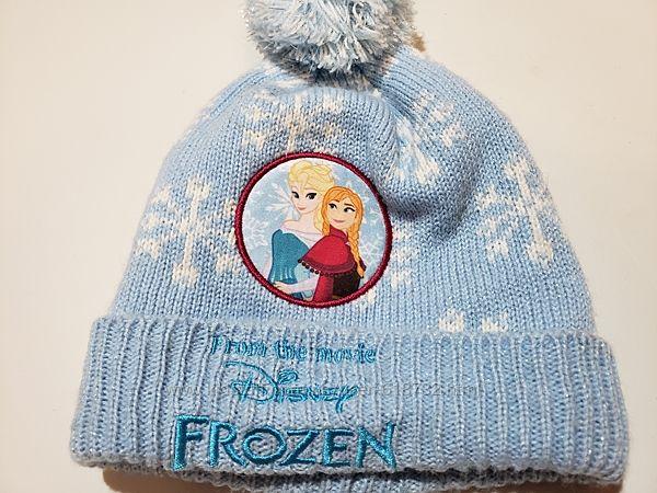 Новая шапка с Эльзой от Disney Frozen, Холодное сердце на 1-3 года