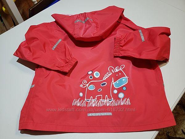 Фирменная куртка, ветровка Impidimpi на 7-8 лет