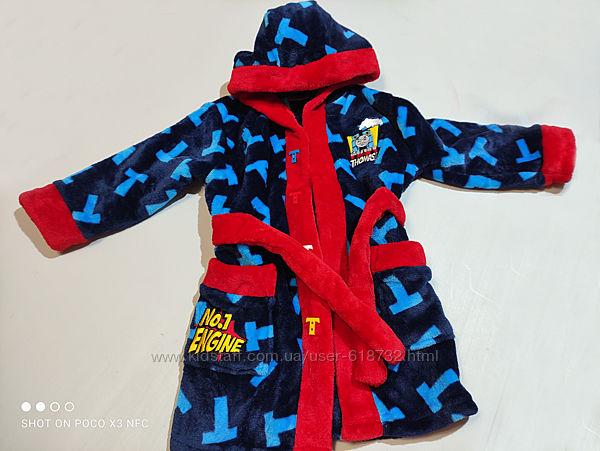 Красивый махровый халат Thomas на 1-2 года