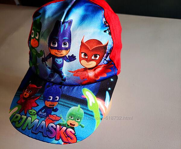 Стильная крутая кепка на мальчика 4-7 лет Герои в масках