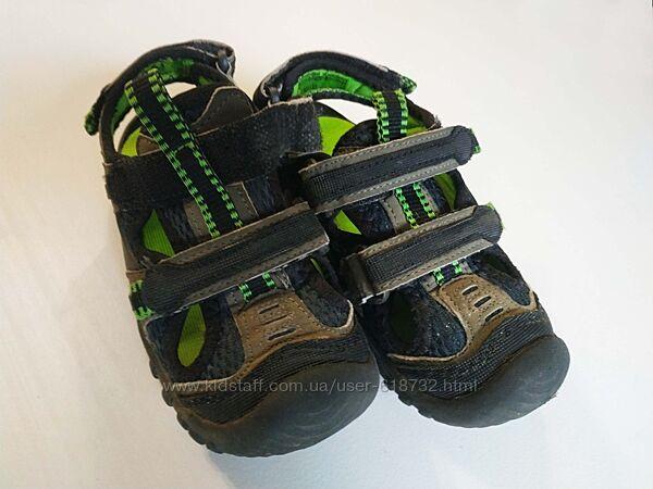 Крутые немецкие босоножки на мальчика bobbi shoes, 30 размер