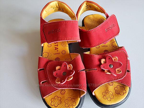 Босоножки, сандалии на девочку ricosta, 33 размер