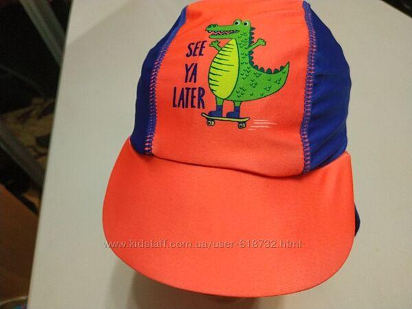 Красивая фирменная кепка, панамка для моря на мальчика 3-6 лет фирмы Dunnes