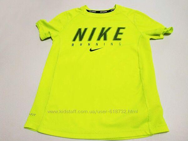Фирменная футболка Nike на мальчика 7-8 лет, хлопок