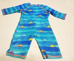 Фирменный новый купальный костюм плавки  футболка на 9-12 месяцев