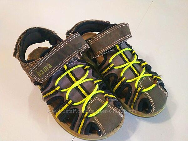 Фирменные немецкие босоножки, сандалии на мальчика Bama, 31 размер