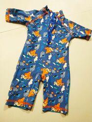 Купальный костюм солнцезащитный В поисках Немо, плавки  футболка на 1-2 го