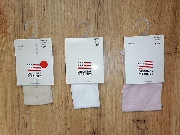 Тонкие колготки для девочки на 0-3, 3-6, 6-9 мес и 6-8, 8-9 лет.