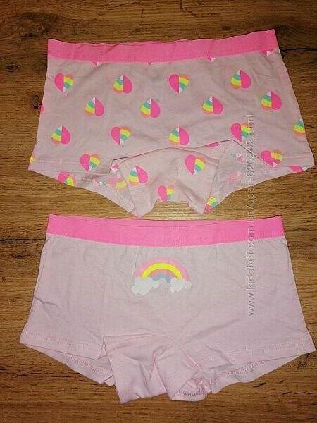 Трусики-шортики для девочки 5-6 лет