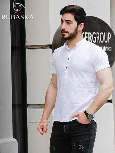 Мужские рубашки с коротким рукавом. Турция