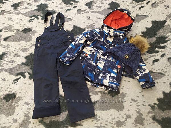 Комбинезон зимний KANZ с шапкой 98-104